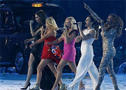 The Spice Girls Olympics closing ceremony