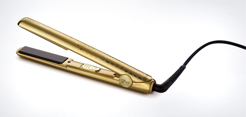 ghd Metallic Gold Styler